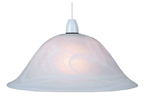 "Murano 13"" Glass Pendant Lampshade from The Shade Boutique"