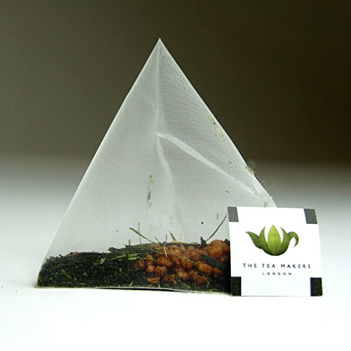The Tea Makers of London Supreme Japanese Genmaicha Green Tea Triunes - 250 Tea Bags from The Tea Makers of London