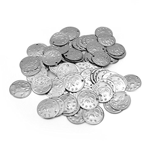 100 Belly Dance Costume Coins Costuming DIY Supplies S from The Turkish Emporium Ltd