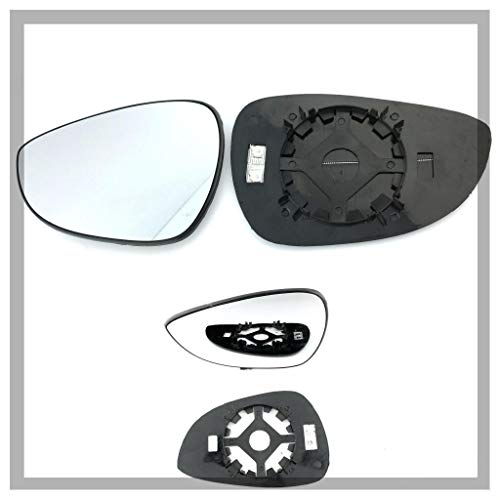 HND-CV 2007 to 2012 Silver Door Mirror Glass LH Passenger Side