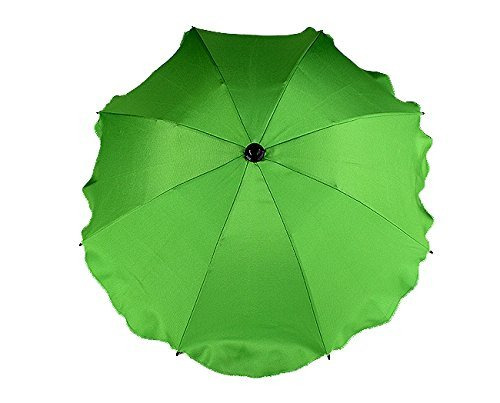 BABY SUN UMBRELLA PARASOL BABY PRAM PUSHCHAIR BUGGY CANOPY PROTECT FROM SUN/RAIN (Light Green) from TheLittles24