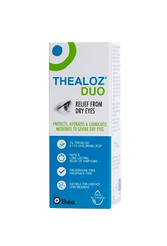Thea Thealoz Duo Eye Drops, 10 ml from Thea