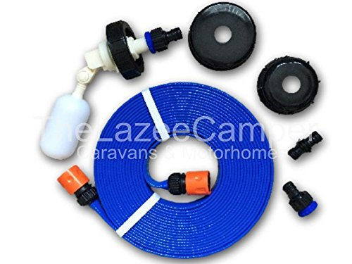 Caravan universal FLAT HOSE KIT autofill Mains Water adaptor for AQUAROLL AND SUPERPITCH fast postage lz from Thelazeecamper