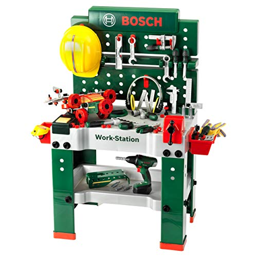 Theo Klein 8485 Bosch Workbench No. 1, Toy, Multi-Colored from Theo Klein