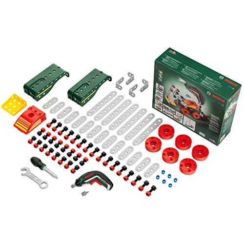 Theo Klein 8497 Multi-Tech Assembling Set with Bosch Ixolino II, Toy, Colored from Theo Klein
