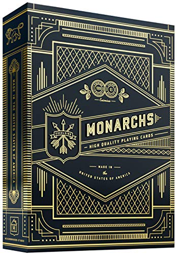 Monarch Playing Cards (Blue) from Unknown