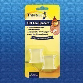 TheraStep - Gel Toe Spacers x2 | One Size | | Soothing Vitamin E & Aloe from TheraStep