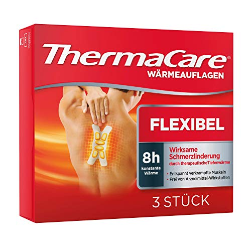 ThermaCare Advanced Neck Pain Therapy (3 Count) Heatwraps, Up to 16 Hours Pain Relief, Neck, Wrist, Shoulder Use, Temporary Relief of Muscular, Joint Pains from ThermaCare