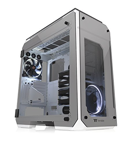 THERMALTAKE CA-1I7-00F6WN-00 Boitier View 71 TG Snow - Black from Thermaltake