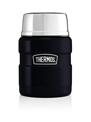 Thermos Stainless King Food Flask, Midnight Blue, 470 ml from Thermos