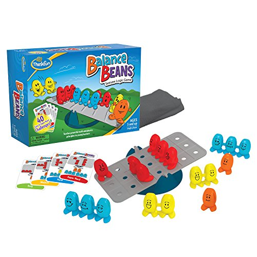 ThinkFun Balance Beans Math Game For Boys and Girls Age 5 and Up - A Fun, Pre-Algebra Game for Young Learners from Thinkfun