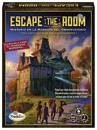 Think Fun - Escape Room Mystery In The Mansion of the Observatory (Ravensburger 76314) from Thinkfun