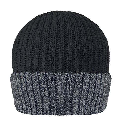 Unisex Mens/Womens Thinsulate Heavy Knit Winter/Ski Thermal Hat (40g) - Thermal Warm Hat from Thinsulate