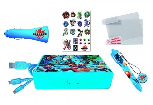 DS Lite/DSi Ultimate Bakugan Pack Hardcase, XXL Stylus, KFZ +USB Ad from Third Party