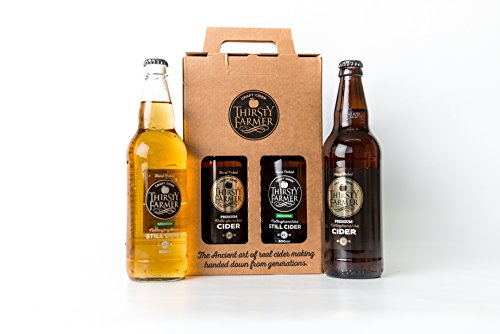 Thirsty Farmer Craft Cider Mixed Gift Box (x4 500ml bottles) from Thirsty Farmer