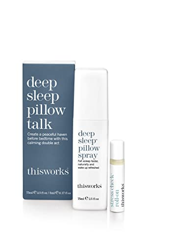 This Works Deep Sleep Pillow Talk Duo, 75ml from This Works