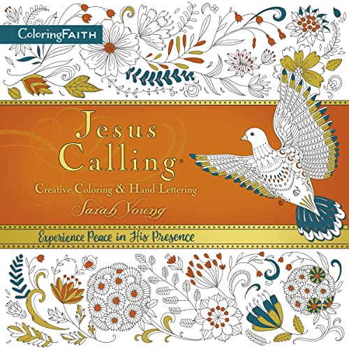 Jesus Calling Creative Coloring and Hand Lettering (Coloring Faith) (Jesus Calling (R)) from Thomas Nelson