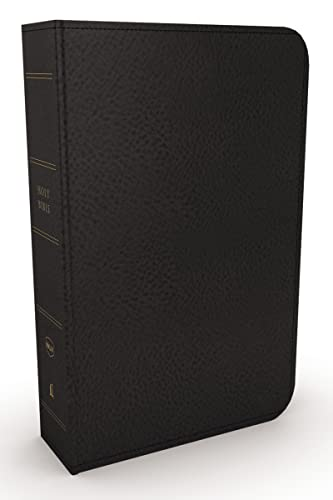 NKJV, Minister's Bible, Genuine Leather, Black, Red Letter Edition from Thomas Nelson