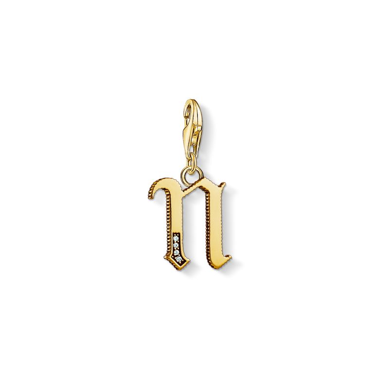 Thomas Sabo Letter N Charm from THOMAS SABO Jewellery