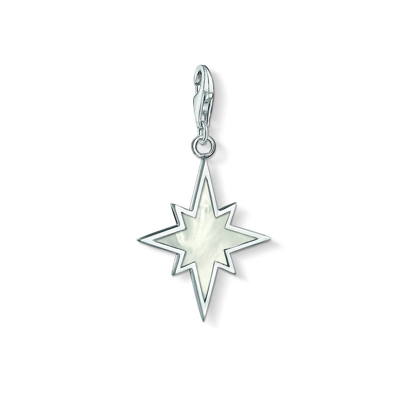 Thomas Sabo Mother of Pearl Star Charm from THOMAS SABO Jewellery