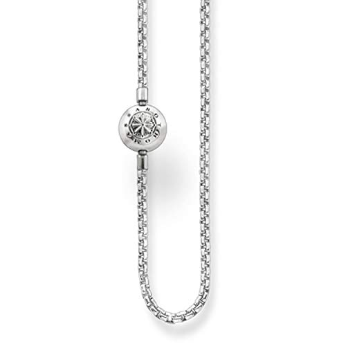 Thomas Sabo Women-Necklace Karma Beads 925 Sterling Silver Length 70 cm KK0001-001-12-L70 from Thomas Sabo