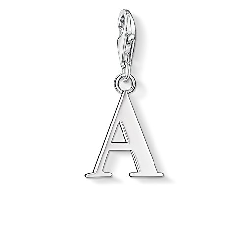 Thomas Sabo Women Charm Pendant Letter A 925 Sterling Silver 0175-001-12 from Thomas Sabo