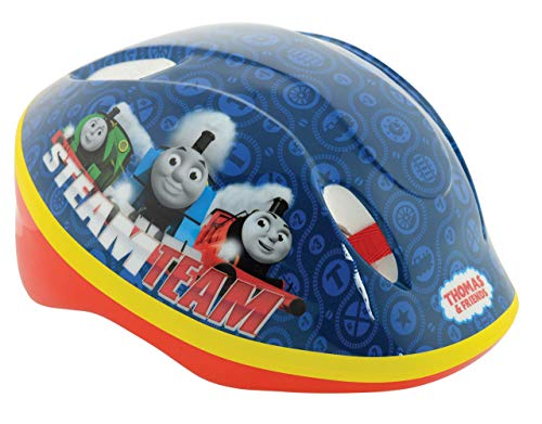 Thomas and Friends Boy Safety Helmet, Blue, 48-52-inch from Thomas & Friends