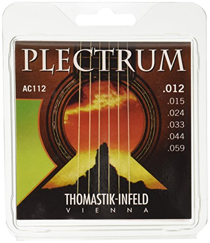 Thomastik Strings for Acoustic Guitar Plectrum Acoustic Series Set AC112 Medium from Thomastik