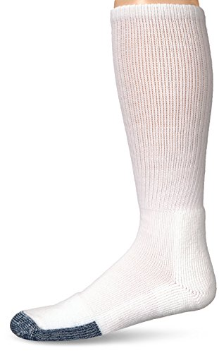 Thorlos Thick Padded Basketball Crew Sock -  white - from Thorlos