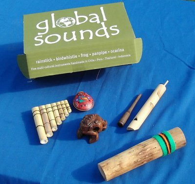 5 Great World Music Instruments Gift Set from Thorness
