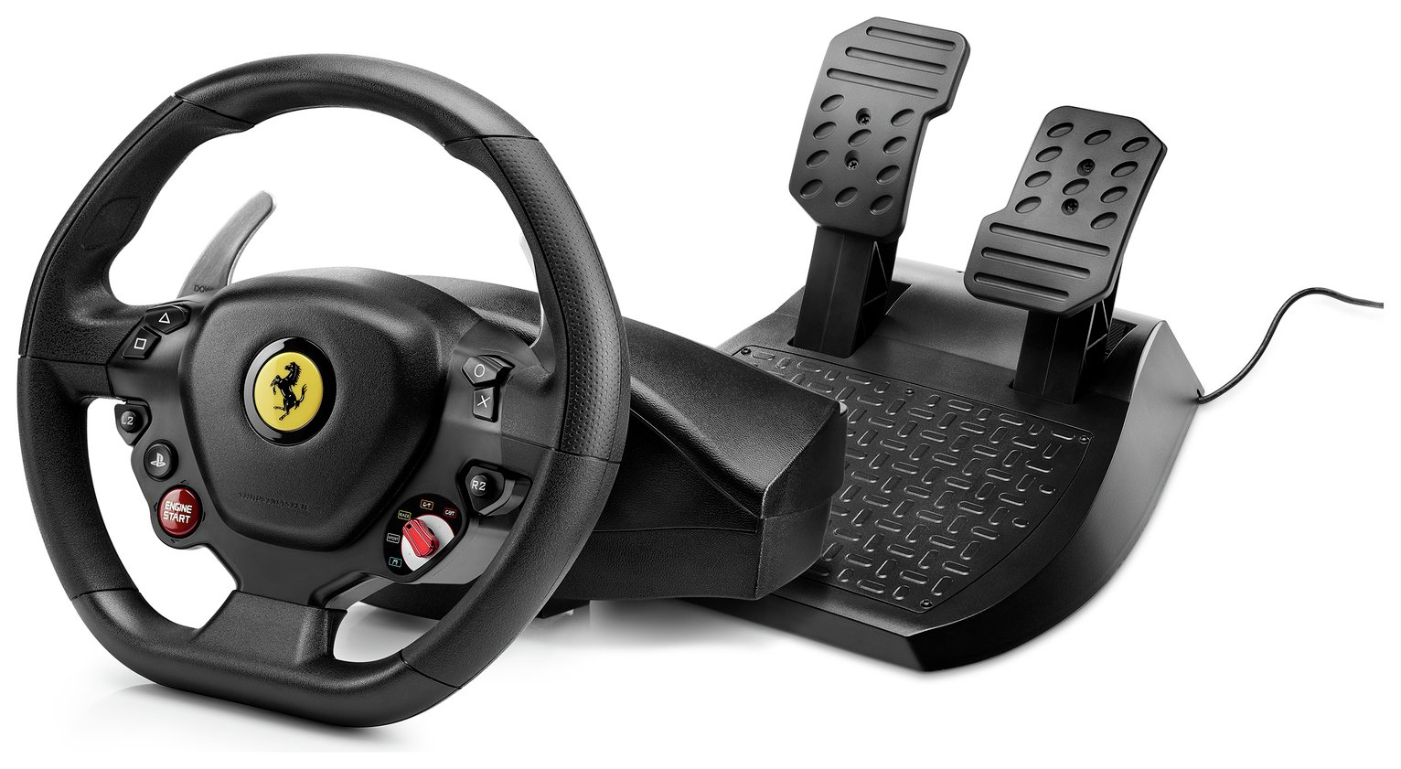 Thrustmaster Find Offers Online And Compare Prices At Wunderstore Tss Sequential Shifter Handbreak Sparco T80 Ferrari 488 Gtb Edn Racing Wheel For Ps4 From