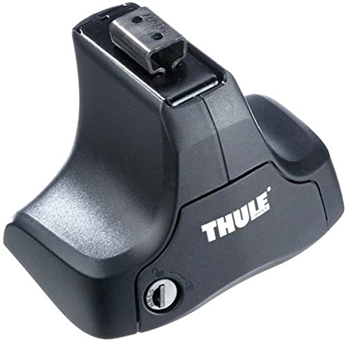 Thule 754002 Rapid System Foot Pack for Cars with Noraml Roof - Black from Thule