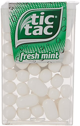 Tic Tac Mint 18 g (Pack of 24) from Tic Tac