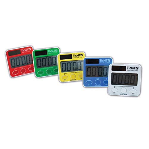 TickiT 92079 Dual Power Timer Set, 5 Pieces from TickiT