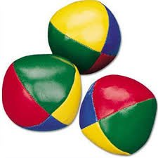 Juggling Balls - Set of 3 from TiddlyWinksToys