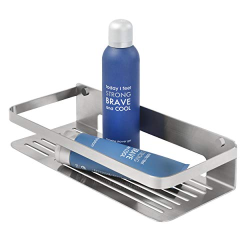 Tiger Caddy Shower Basket, Stainless Steel Brushed, 32 x 7 x 13.6 cm from Tiger