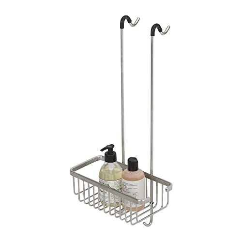 Tiger Exquisit Hanging Shower Basket, Stainless Steel Brushed, 26.5 x 55.1 x 18.8 cm from Tiger