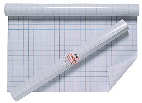 Tiger 50cm x 10m QUALITY ROLL OF CLEAR STICKY BACK PLASTIC BOOK COVER from Tiger
