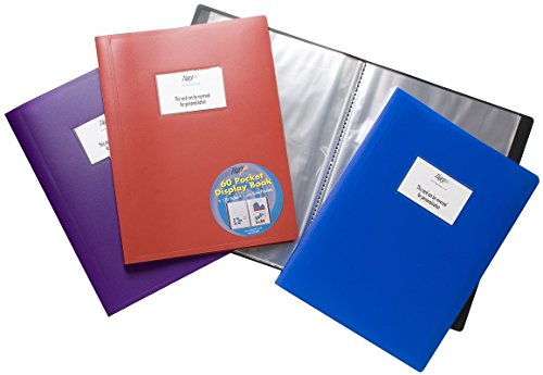 Tiger 60 A4 Pocket Flexi Display Book, 301686 from Tiger
