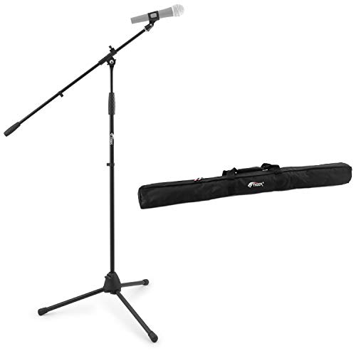 Tiger Boom Microphone Stand with Tripod Base and Gig Bag from Tiger
