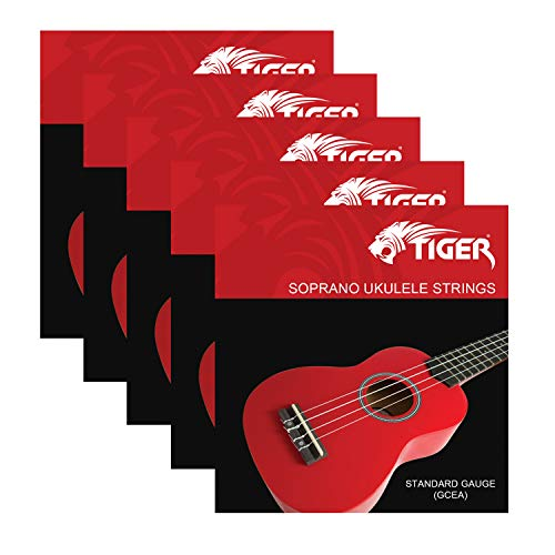 Tiger Soprano Ukulele Strings - Pack of 5 from Tiger