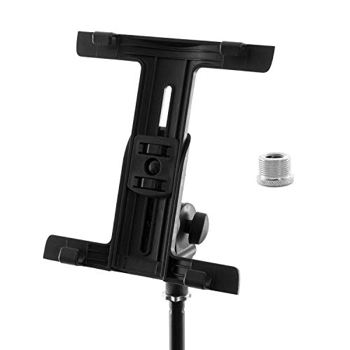 Tiger Tablet iPad Holder Mount for Microphone Stand with Thread Adaptor from Tiger