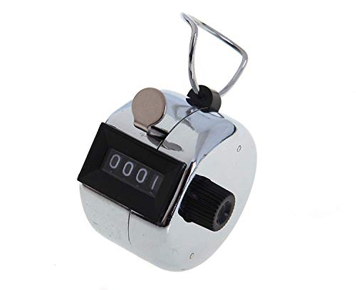 Tiger metal hand tally counter from Tiger