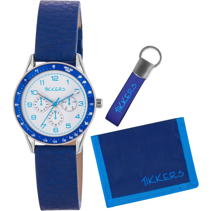 Childrens Tikkers Wallet Gift Set Watch from Tikkers