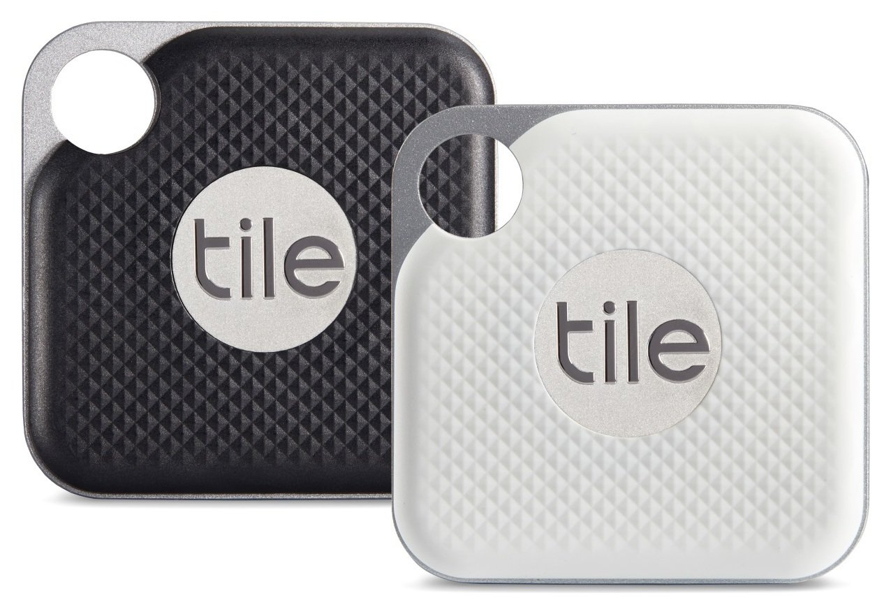 Tile Pro 2018 Key and Item Finder Combo - 2 Pack from Tile