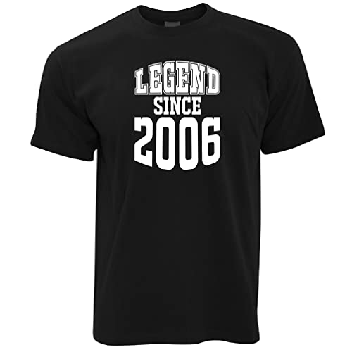 Legend Since 2001 16th Birthday Gift Made In 2001 Birth Year 16 Year Old Born A Legend Epic Mens T-Shirt Cool Funny Gift Present For Men from Tim And Ted
