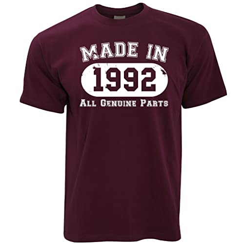 Made in 1986 All Original Parts 30th Birthday Thirtieth Mens T-Shirt from Tim And Ted