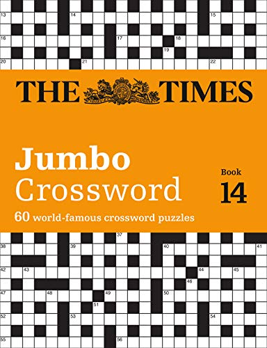 The Times 2 Jumbo Crossword Book 14 from Times Books