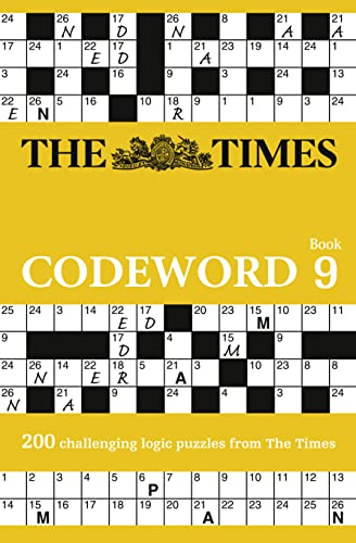 The Times Codeword 9: 200 challenging logic puzzles from The Times from Times Books