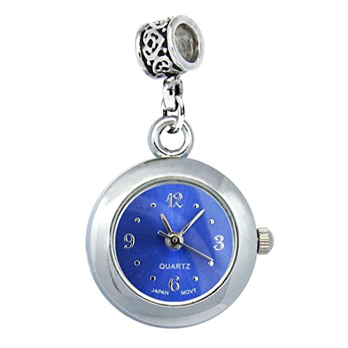 Timest - Bead Watch for Necklace or Bracelet Color Navy Blue Round Analogue Quartz EBA0002 from Timest